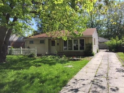Lansing Single Family Home New: 17223 Greenbay Avenue