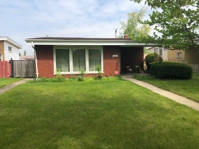 Calumet City Single Family Home New: 1379 Superior Avenue