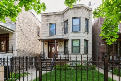 Chicago Multi Family Home For Sale: 825 North Maplewood Avenue