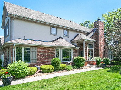 New Lenox, Mokena, Frankfort Condo/Townhouse Contingent: 21441 Settlers Pond Drive