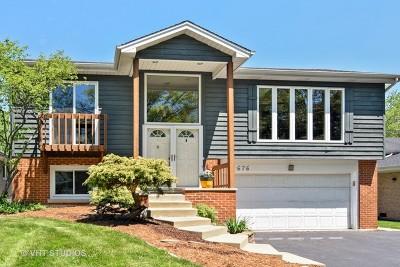 Glen Ellyn Single Family Home New: 676 Marston Avenue