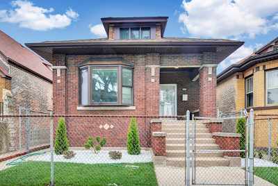 Single Family Home New: 1624 East 86th Place
