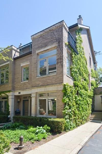 Chicago Condo/Townhouse New: 2733 North Janssen Avenue #B