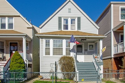 Chicago Single Family Home New: 4136 North Claremont Avenue