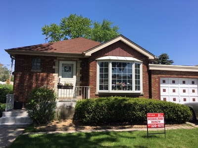 Skokie IL Single Family Home New: $349,000
