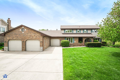 Orland Park Single Family Home For Sale: 8025 Cambridge Drive
