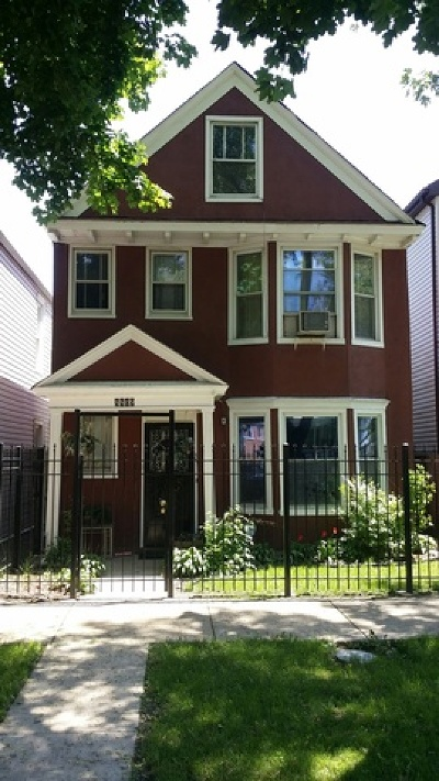 Multi Family Home New: 8809 South Lowe Avenue