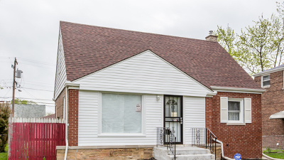 Calumet City Single Family Home New: 1437 Wentworth Avenue