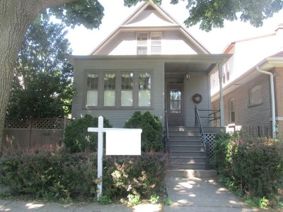 Chicago Single Family Home New: 4238 North Lawndale Avenue
