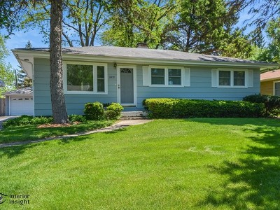 Downers Grove Single Family Home New: 5915 Woodward Avenue