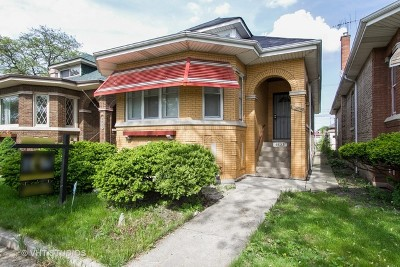 Chicago Single Family Home New: 8623 South Bishop Street