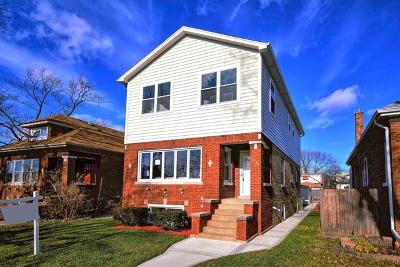 Chicago Single Family Home New: 5954 West Patterson Avenue