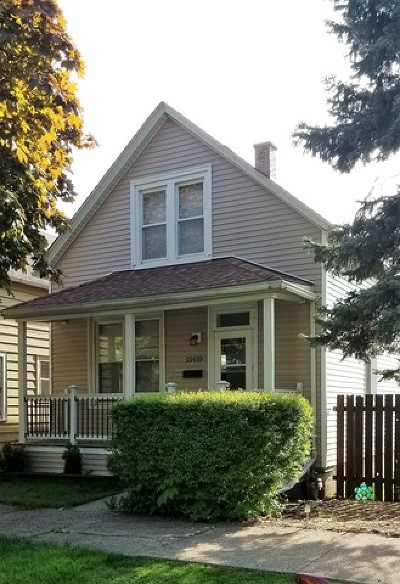 Chicago Single Family Home New: 13410 South Houston Avenue