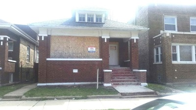 Chicago Single Family Home New: 8051 South Bishop Street