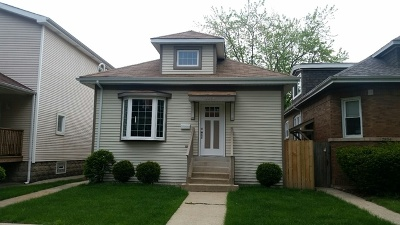 Chicago Single Family Home New: 2850 North Natoma Avenue