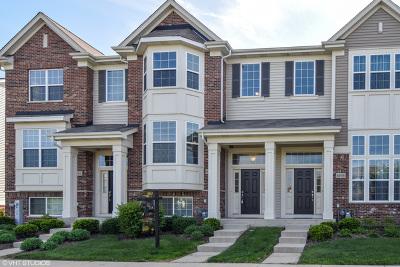 Hanover Park Condo/Townhouse For Sale: 6544 Lilac Boulevard