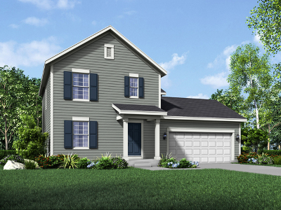 Island Lake IL Single Family Home New: $271,490