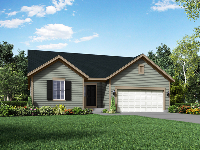 Island Lake IL Single Family Home New: $340,313