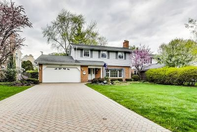 Hinsdale Single Family Home Price Change: 600 Franklin Street