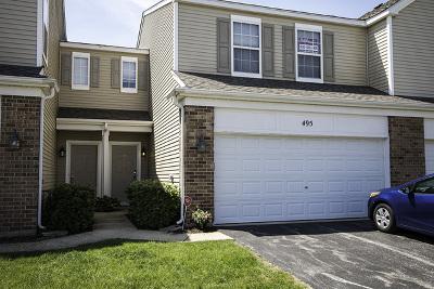 Oswego Condo/Townhouse For Sale: 495 Brookside Drive
