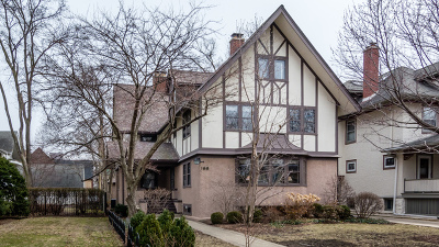 Oak Park Single Family Home For Sale: 166 North Ridgeland Avenue
