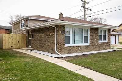 Dolton  Single Family Home For Sale: 14235 Park Avenue