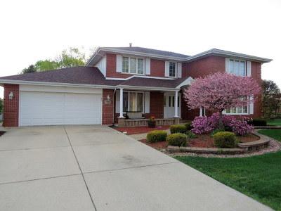 Palos Park Single Family Home Price Change: 12808 South Circle Parkway
