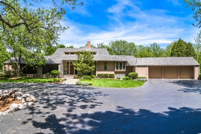 Woodstock Single Family Home For Sale: 1609 South Valley Hill Road