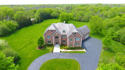 Barrington Hills Single Family Home For Sale: 50 Lakeview Lane