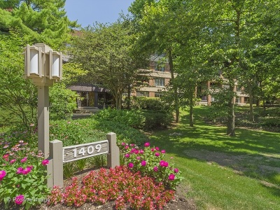 Hinsdale Condo/Townhouse For Sale: 1409 Burr Oak Road #302A