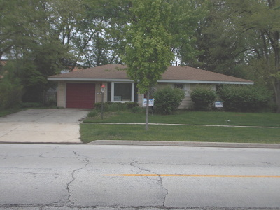 Schaumburg Single Family Home For Sale: 1624 West Weathersfield Way