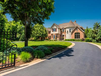 Barrington Hills Single Family Home New: 222 Westfield Way