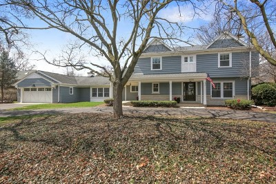 Hinsdale Single Family Home Price Change: 906 South County Line Road