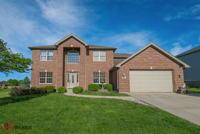 Lockport Single Family Home Contingent: 16422 South Lakeview Drive