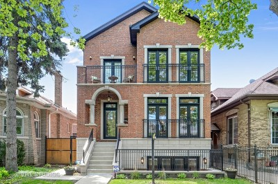 Single Family Home For Sale: 2547 West Farwell Avenue