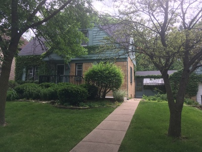 Western Springs Single Family Home For Sale: 4615 Woodland Avenue