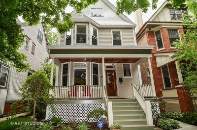 Single Family Home For Sale: 5328 North Wayne Avenue