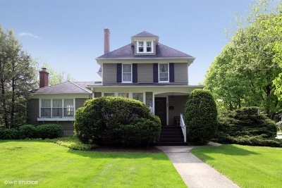 Hinsdale Single Family Home For Sale: 632 South Garfield Street