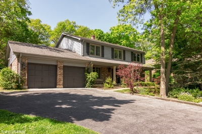 Lincolnshire Single Family Home For Sale: 33 Oxford Drive