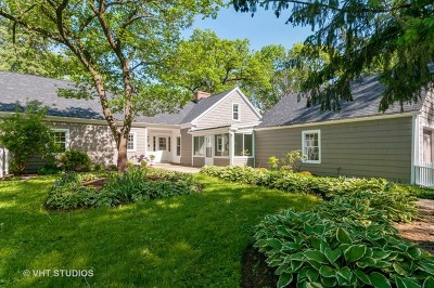 Bartlett Single Family Home For Sale: 29w631 Schick Road