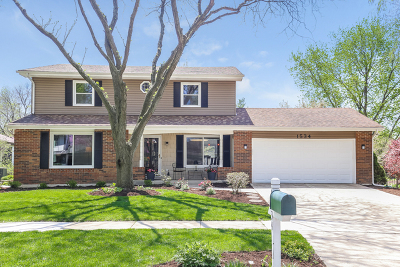 Naperville Single Family Home For Sale: 1534 Foxhill Road