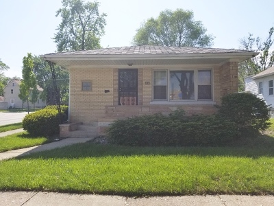 Bellwood Single Family Home For Sale: 546 Rice Avenue