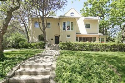 Highland Park Single Family Home For Sale: 273 Central Avenue