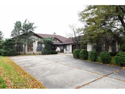 Oak Brook Single Family Home Price Change: 117 Saddle Brook Drive