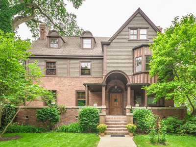 Oak Park Single Family Home Price Change: 333 North Euclid Avenue
