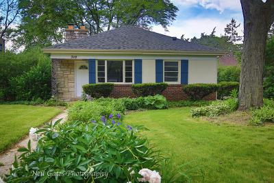 Wheaton Single Family Home For Sale: 310 South Prospect Street