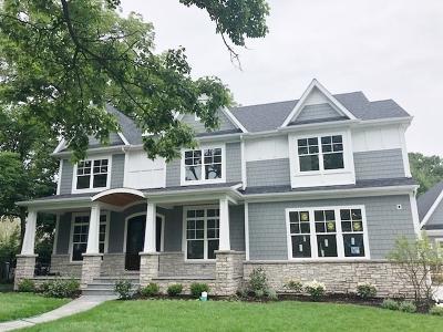 Glen Ellyn Single Family Home For Sale: 820 Duane Street