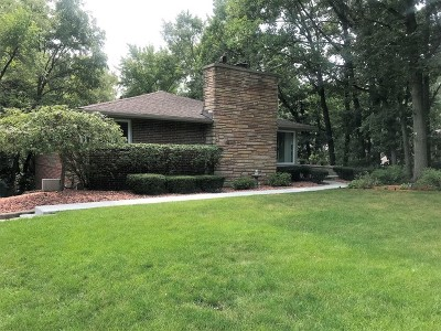 Palos Park Single Family Home For Sale: 31 North Woodland Trail