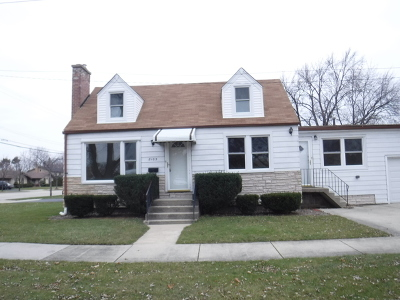 Niles Single Family Home For Sale: 8103 North Greenwood Avenue