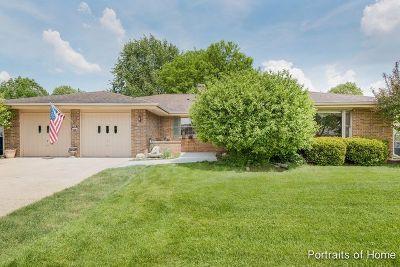 Bartlett Single Family Home For Sale: 867 Brewster Lane